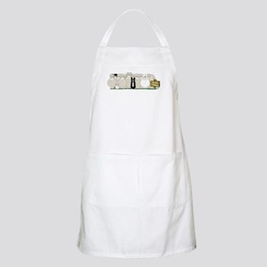 Sheep Family Apron